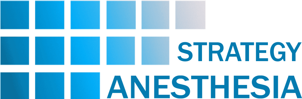 Pain Management Anesthesia  Services: Strategy Anesthesia Logo